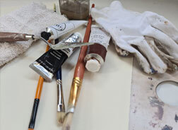 Alyson May Painting Materials